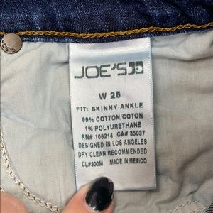 Joe's Jeans Jeans - Joe's Jeans Lightly Distressed Skinny Ankle Jean